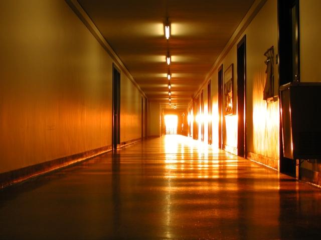 MIThenge at the Infinite Corridor at MIT. Photo: Matt Yourst.