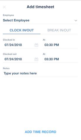 Time Clock Wizard Screenshot
