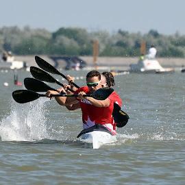 sync by Ester Ayerdi - Sports & Fitness Watersports ( sprint canoe, canoe sprint, canoe, kayak, sport )