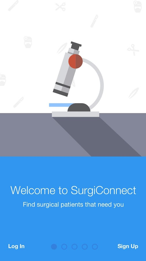 SurgiConnect- screenshot