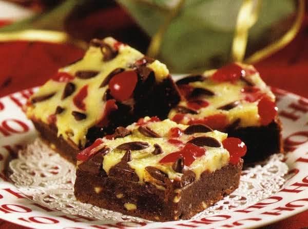 Chocolate Cherry Bars Recipe