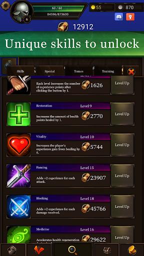 IDLE Quest: Hero Text RPG Clicker 0.78.203 screenshots 1