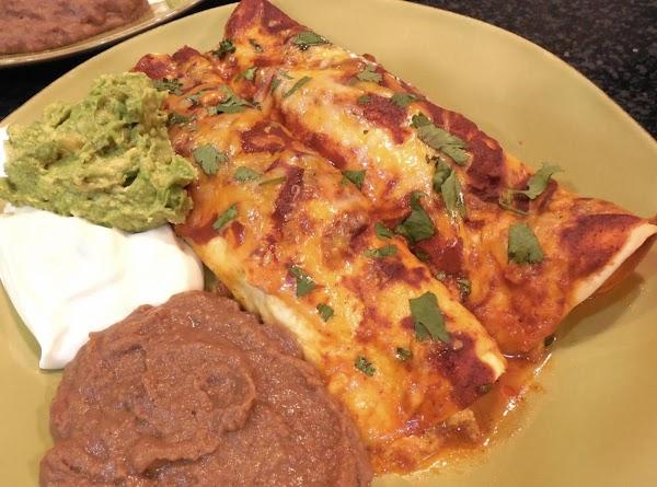 Chicken & Spinach Enchiladas Recipe