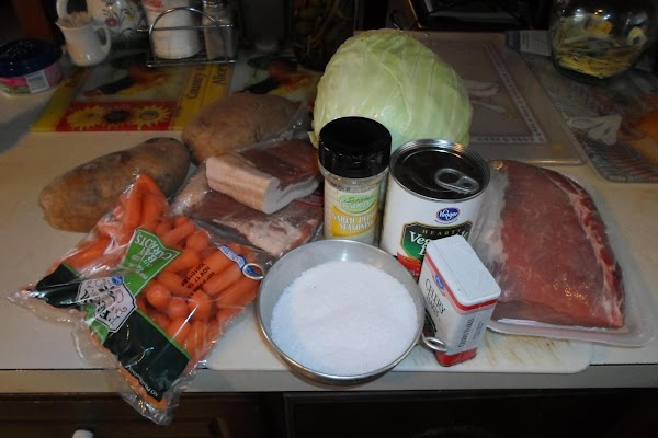 First, lets get all the ingredients together.