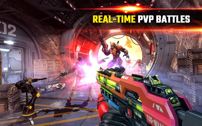 SHADOWGUN LEGENDS - FPS PvP and Coop Shooting Game Screenshot 9