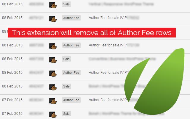 Envato Authors: No Author Fee