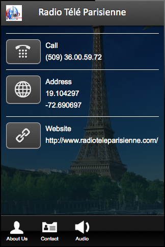 Radio Télé Parisienne- screenshot