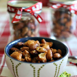 Holiday Spiced Mixed Nuts.