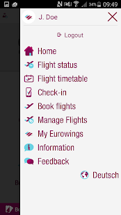 Eurowings- screenshot thumbnail