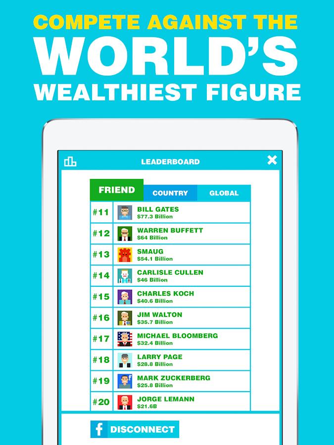 Screenshots of Billionaire. for iPhone