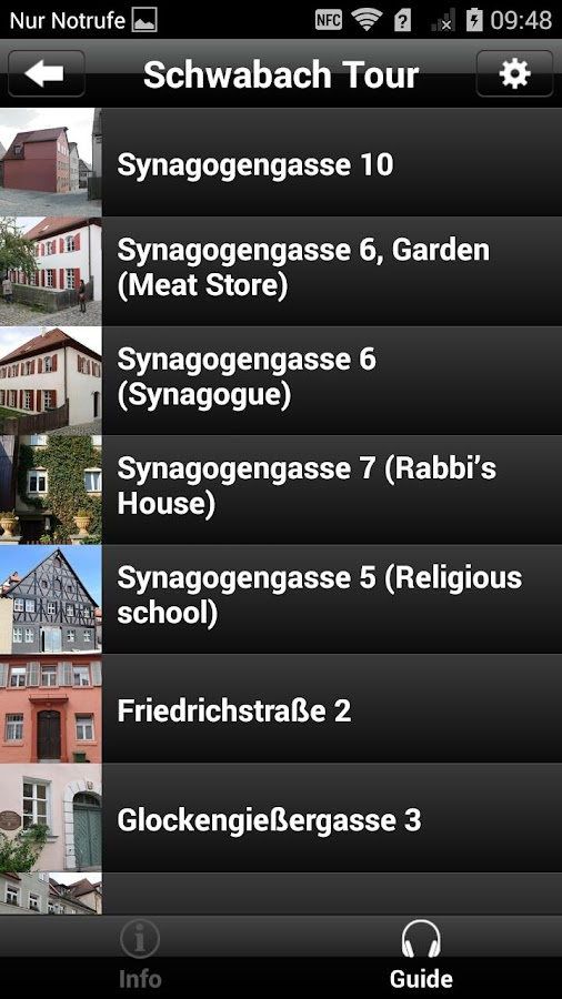 Jewish Museum in Schwabach- screenshot