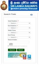 Sri Lanka Railways screenshot thumbnail