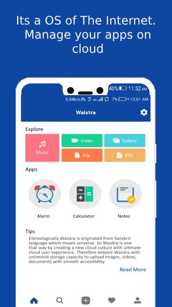 Waistra Unlimited Cloud Storage Free Cloud App Android Apps Appagg