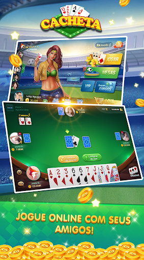 Cacheta - Pife - Pif Paf - ZingPlay Jogo online android2mod screenshots 3