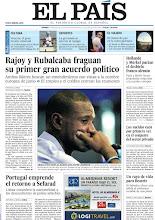 Photo: Rajoy y Rubalcaba fraguan su primer gran acuerdo político, los sueldos caen por primera vez en el conjunto del sector privado y Abidal dice adiós al Barcelona entre lágrimas, en nuestra portada del viernes 31 de mayo http://srv00.epimg.net/pdf/elpais/1aPagina/2013/05/ep-20130531.pdf