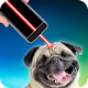 Laser pointer for playing with dog (app)