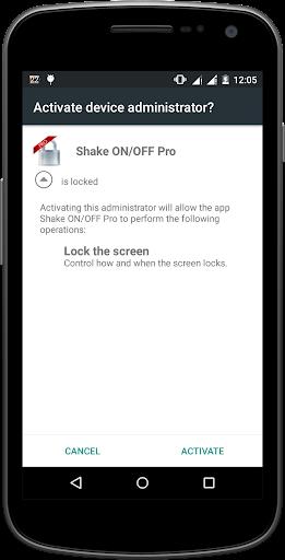 Shake ON OFF Pro
