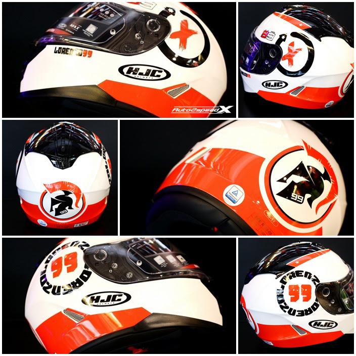 หมวกกันน็อค HJC IS 17 Lorenzo Angle 99