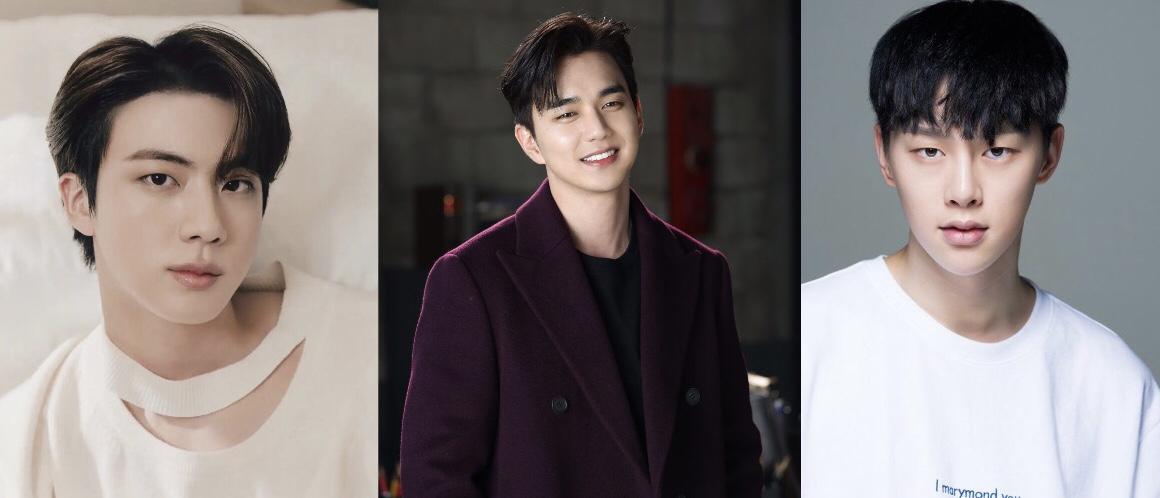 Trai đẹp chơi cùng trai đẹp, Jin (BTS) và Yoo Seung Ho tặng xe cà phê cho Kwon HyunBin