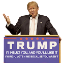 Trump quotes: You be the judge icon