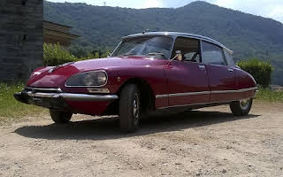 Citroën Ds 20 Pallas Rent Lombardia