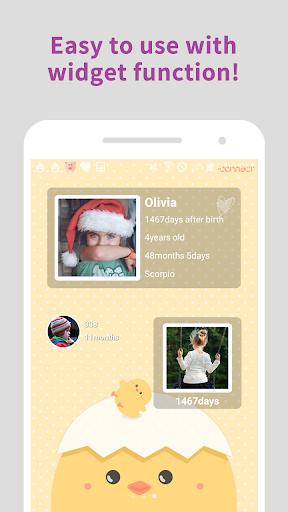 Baby Age Widget - Day Countdown screenshot