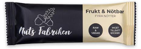 Fyra nötter – frukt & nötbar - Nutsfabriken