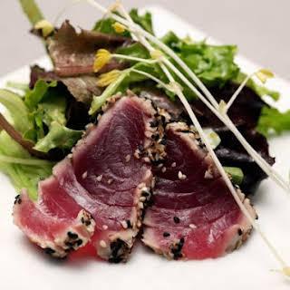 Tuna with Green Salad.