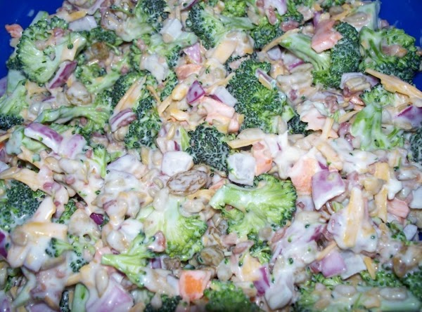 Broccoli Bacon Salad Recipe