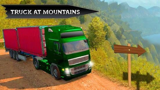 Horský vůz jízdy mimo silnici:simulátor nákladních - náhled