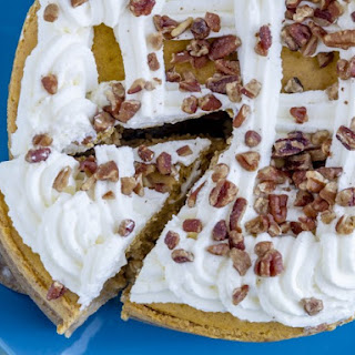 Rich Pumpkin Cheesecake With Cake Mix Crust