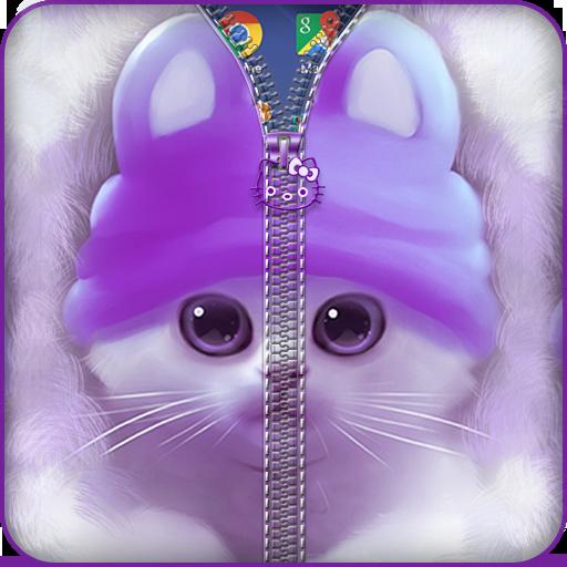 个人化のかわいいキティジッパー運 LOGO-記事Game