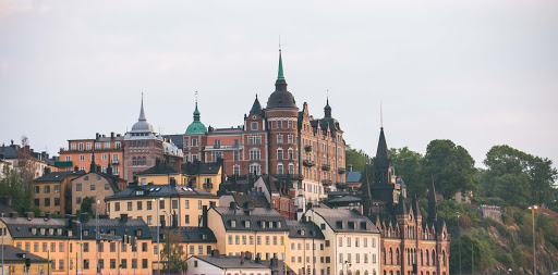 Buildings-in-Gamla-stan-2.jpg - Buildings in Gamla stan, the old town in central Stockholm.