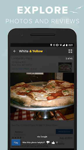 White & Yellow Pages screenshot 6