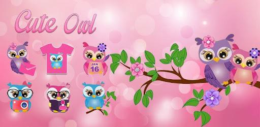 Rosa Night Owl Theme Aplikasi Di Google Play