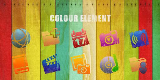 Colour Element-Solo Theme