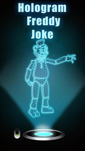 Hologram Freddy Joke