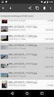 Screenshot of File Manager