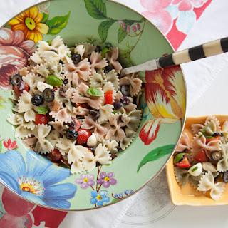 Olive & Mozzarella Pasta Salad.