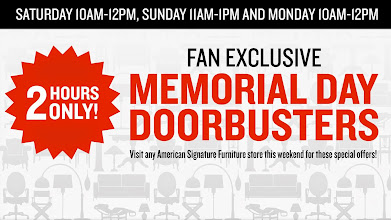 Photo: Our followers get an extra special deal on our furniture for Memorial Day!!
