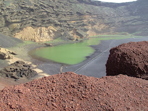 Photo: Lago Verde (bij El Golfo)