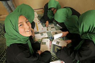 Photo: Photo by Sumon Yusuf  This photo of Afghan school girls taken in Kabul won 1st Place/Best of Show in the 10th Annual Photoshare Photo Contest.