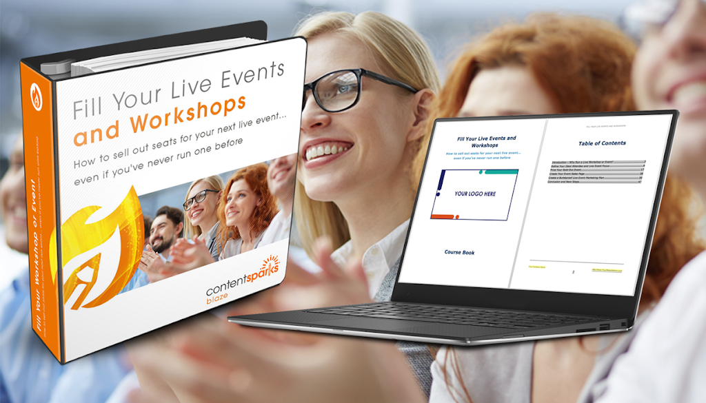 fill your live events and workshops
