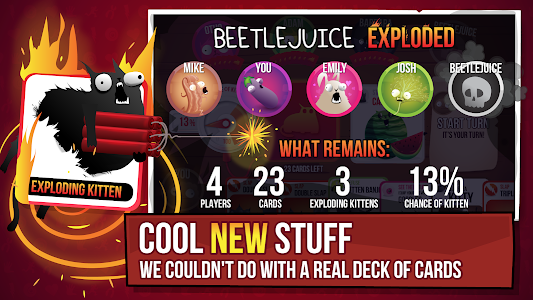 Exploding Kittens® - Official v3.0.0 (Unlocked)