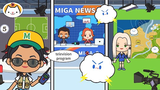 Miga Town: My TV Shows MOD (Unlock All Content) 3