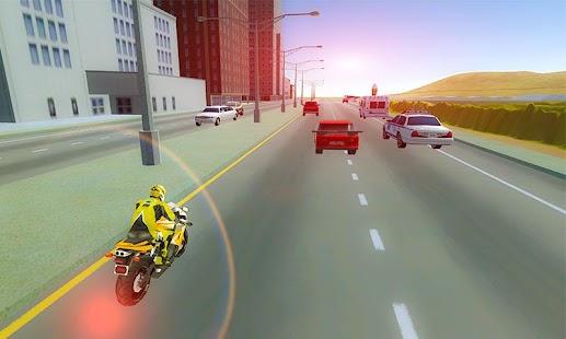 City Moto Bike Racer - náhled