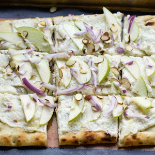 Apple Ricotta Flatbread