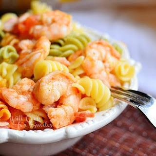 Chipotle Shrimp Bacon & Tomato Pasta Bowl