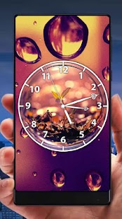 Bubble Analog Clock Live Wallpaper - náhled