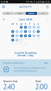 Oral-B App- screenshot thumbnail